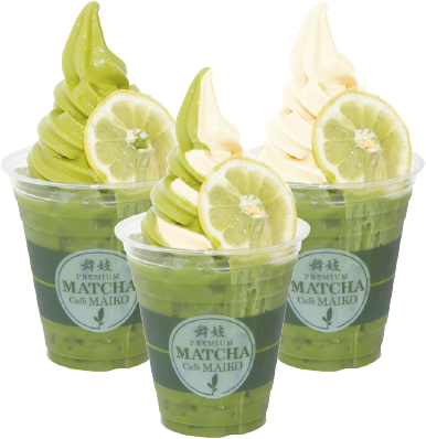 Matcha Lemon Float