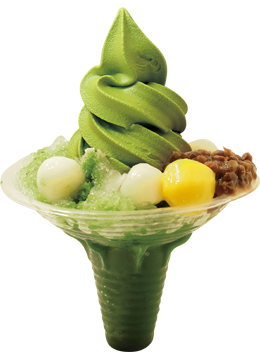 Shaved Ice (Matcha)
