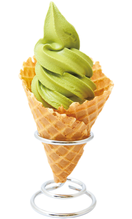 Soft-serve Ice Cream (Matcha)