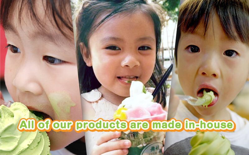 All Our Products are Made In House